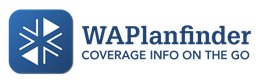 "WAPlanfinder ""Coverage on the go"" icon"